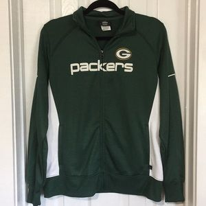 Green Bay Packers NFL jacket womens Large lg (&Q)